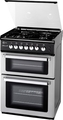 Flavel 60cm Twin Cavity Gas Cooker - DCG61SP (Milano)
