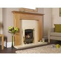 Flavel Slide Control Brass Inset Gas Fire - FHEC11SP (Caress HE Traditional)