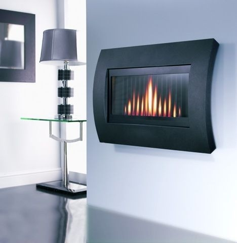 Flavel Wall Mounted Gas Fire Fcrr00rn Curve Fcrr00rn