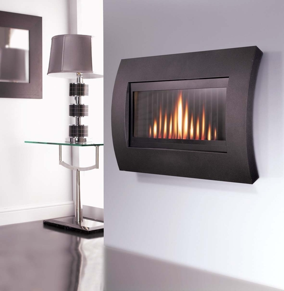 Flavel Wall Mounted Gas Fire Fcrrxxrn Curve West