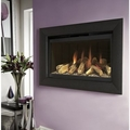 Flavel Wall Mounted Balance Flue Gas Fire - FBFL22RN3 (Rocco Black BF)