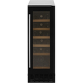 Amica Freestanding Under Counter Slimline Wine Cooler - AWC300BL
