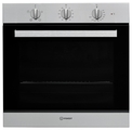 Indesit 60cm Conventional Electric Single Oven - IFW6230IXUK