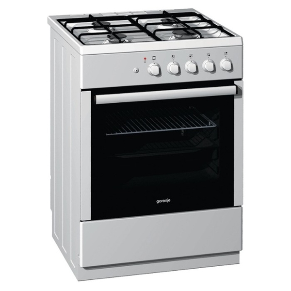 Gorenje 60cm Single Cavity Gas Cooker Gi62123aw West