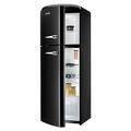 Gorenje 60cm Retro Frost Free Fridge Freezer - RF60309OBK-L