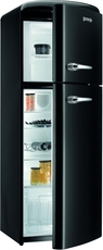 Gorenje 60cm Retro Frost Free Fridge Freezer - RF60309OBK
