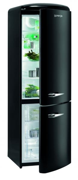 gorenje 60cm retro frost free fridge freezer rk60359obk. Black Bedroom Furniture Sets. Home Design Ideas