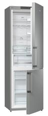 Gorenje 60cm Stainless Steel Ion Fridge Freezer - NRK6192JX
