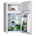 Homeking 48cm Under-Counter Fridge Freezer - HRUT485W