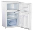 Homeking 50cm 2-door undercounter fridge freezer - HRUTM485W