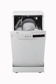 Hoover 10PL Freestanding Slimline Dishwasher - HDP 2D1049W-80