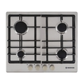 Hoover 60cm 4 Burner Gas Hob - HGH64SCEX