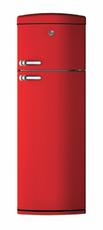 Hoover 60cm Retro Fridge Freezer - HVRDS 6172RKH