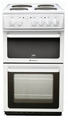 Hotpoint 50cm Twin Cavity Electric Cooker - HW170EWS