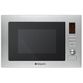Hotpoint 38.8cm 25L Built In Microwave And Grill - MWH2221X