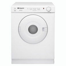 Hotpoint 4Kg Vented Tumble Dryer - V4D01P(UK)