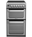 Hotpoint 50cm Double Oven Electric Cooker - HUE52GS (Ultima)