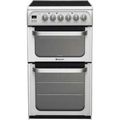 Hotpoint 50cm Double Oven Electric Cooker - HUE52PS (Ultima)