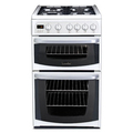 Hotpoint 50cm Double Oven Gas Cooker - 50HGP