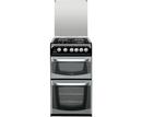 Hotpoint 50cm Twin Cavity Gas Cooker - CH50GCIS (Connemara)