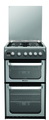Hotpoint 50cm Double Oven Gas Cooker - HUG52G (Ultima)