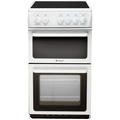 Hotpoint 50cm Twin Cavity Electric Cooker - HAE51PS