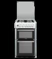 Hotpoint 50cm Twin Cavity Gas Cooker - DCH50GW