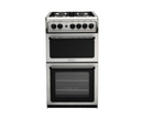 Hotpoint 50cm Twin Cavity Gas Cooker - HAG51G