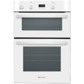 Hotpoint 90cm Fan Assisted Electric Double Oven - DH53WS