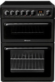 Hotpoint 60cm Double Oven Electric Cooker - HAE60KS