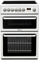 Hotpoint 60cm Double Oven Electric Cooker - HAE60PS