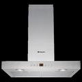 Hotpoint 60cm Chimney Cooker Hood - HHB67AD