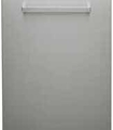 Hotpoint 60cm Dishwasher Decor Panel - Stainless Steel (XDZH)