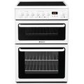 Hotpoint 60cm Double Oven Ceramic Cooker - HAE60P