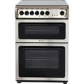 Hotpoint 60cm Double Oven Ceramic Cooker - HAE60X