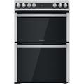 Hotpoint 60cm Double Oven Ceramic Cooker - HDT67V9H2CX