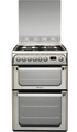 Hotpoint 60cm Double Oven Dual Fuel Cooker - HUD61GS (Ultima)