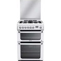 Hotpoint 60cm Double Oven Dual Fuel Cooker - HUD61PS (Ultima)