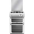 Hotpoint 60cm Double Oven Dual Fuel Cooker - HUD61P (Ultima)