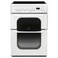 Hotpoint 60cm Double Oven Electric Cooker - 62DCWS
