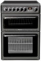 Hotpoint 60cm Double Oven Electric Cooker - HAE60GS