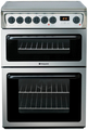 Hotpoint 60cm Twin Cavity Electric Cooker - HAE60XS
