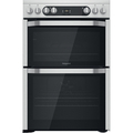 Hotpoint 60cm Double Oven Electric Cooker - HDM67V9HCX