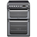 Hotpoint 60cm Double Oven Electric Cooker - HUE61GS (Ultima)