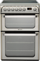 Hotpoint 60cm Double Oven Electric Cooker - HUE61XS (Ultima)
