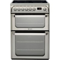Hotpoint 60cm Double Oven Induction Cooker - HUI611X