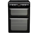 Hotpoint 60cm Double Oven Induction Cooker - HUI614K