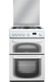 Hotpoint 60cm Double Oven Gas Cooker - 60HGP