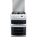 Hotpoint 60cm Double Oven Gas Cooker - CH60GCIW (Carrick)