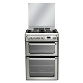 Hotpoint 60cm Double Oven Gas Cooker - HUG61X (Ultima)*